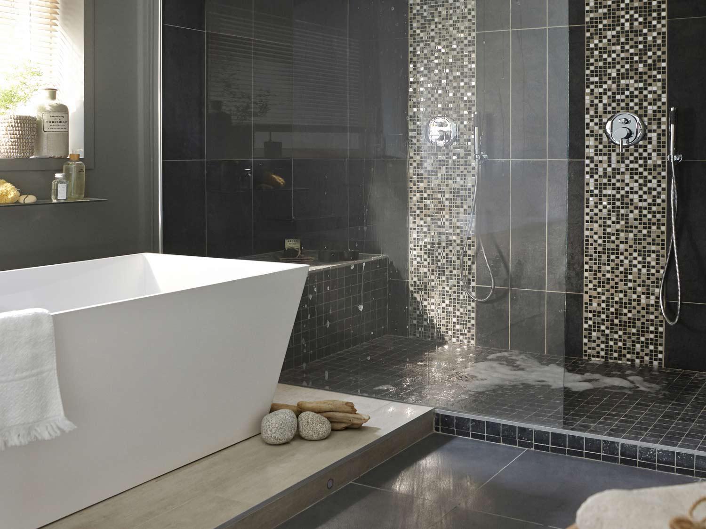 Meuble salle de bain et vasque leroy merlin for Salle de bain chic