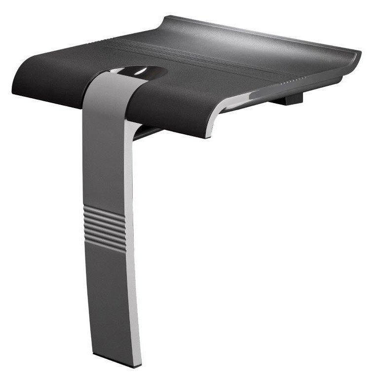 Siège De Douche à Fixer Relevable Aluminium Design