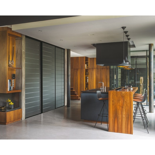 porte de placard coulissante sur mesure optimum uno de 60. Black Bedroom Furniture Sets. Home Design Ideas