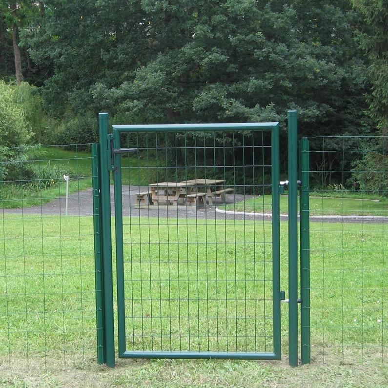 Portillon Grillagé Eco Garden L100 X H150 Cm Vert