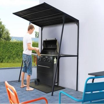 Tonnelle Autoportante Barbecue Acier Noire 234 M² Leroy