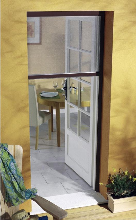 moustiquaire pour portefenêtre à enroulement vertical