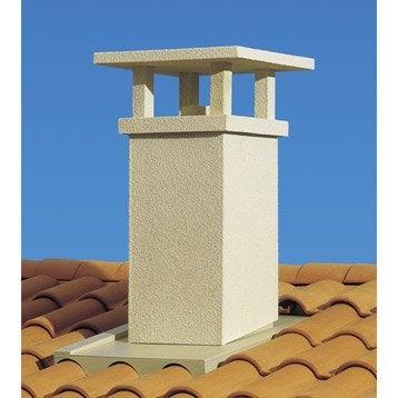 Sortie de toit traditionnelle POUJOULAT 230 mm