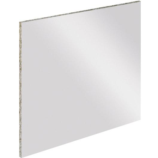 cr dence stratifi tableau blanc magn tique cm x cm leroy merlin. Black Bedroom Furniture Sets. Home Design Ideas