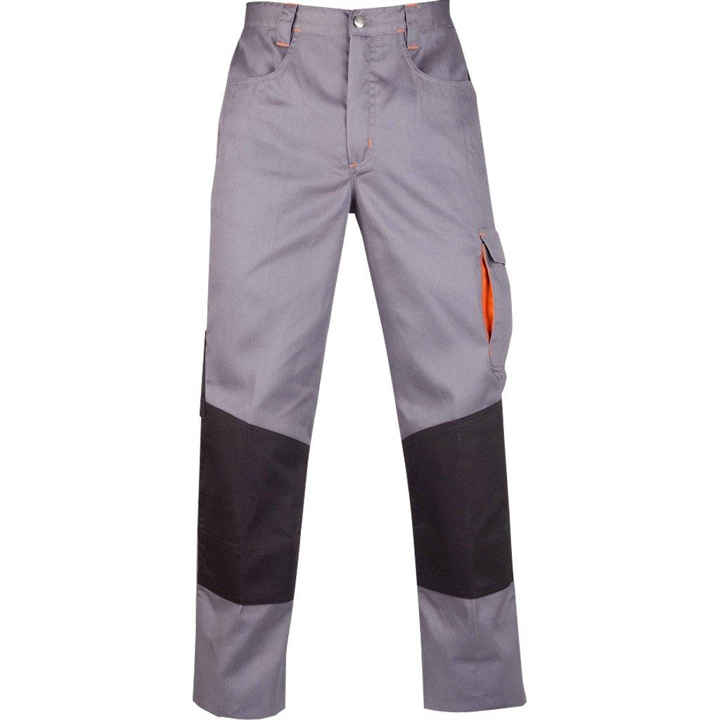 Pantalon de travail kapriol kavir gris noir taille l for Pantalon de cuisine noir