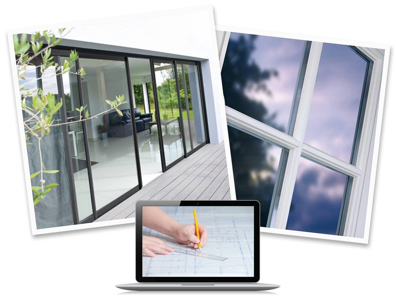 fen tre sur mesure et baie vitr e sur mesure la plus. Black Bedroom Furniture Sets. Home Design Ideas