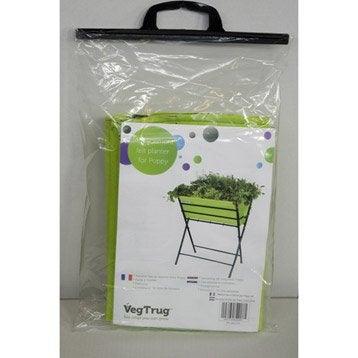 Housse pour potager sur pieds ACD Poppy vert L.62 x l.46 x H.28 cm