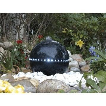 Kit fontaine UBBINK Dubai, noir, H.36 cm
