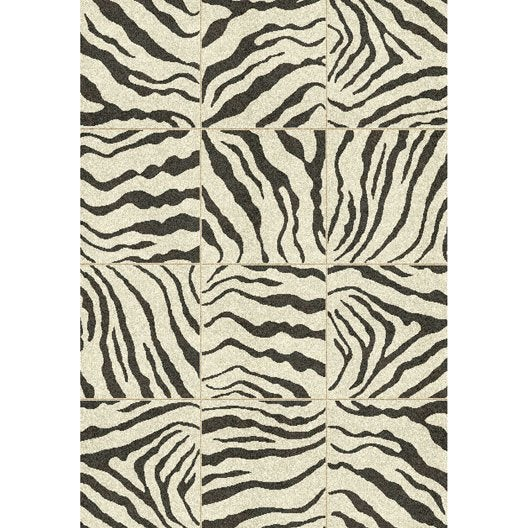 tapis noir et blanc matis x cm leroy merlin. Black Bedroom Furniture Sets. Home Design Ideas