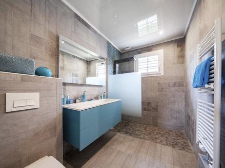 La salle de bains d'Olivier à Jouard