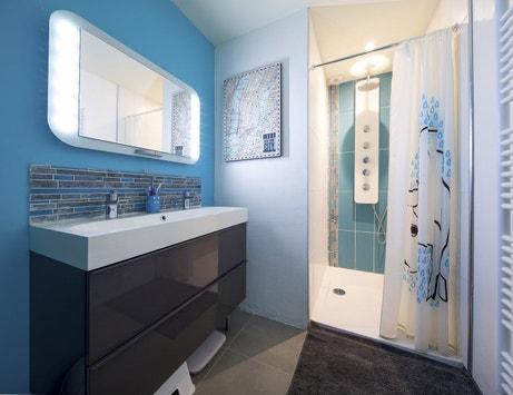 La salle de bains de Stéphanie à Osny