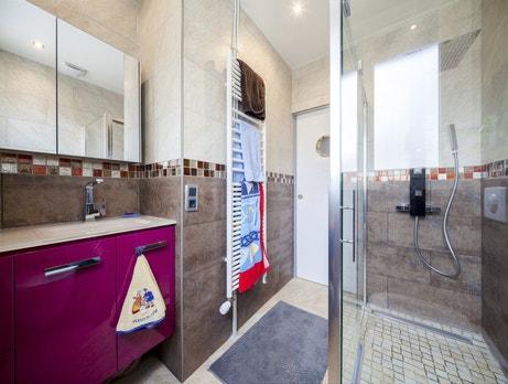 La salle de bains de Luc à Antony