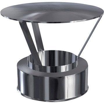 Chapeau pare-pluie simple ISOTIP JONCOUX 100 mm 0 °