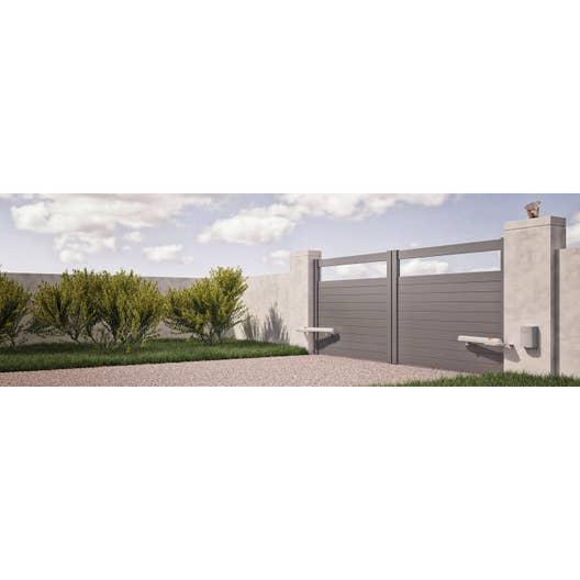 motorisation de portail v rins nice home aria 200. Black Bedroom Furniture Sets. Home Design Ideas