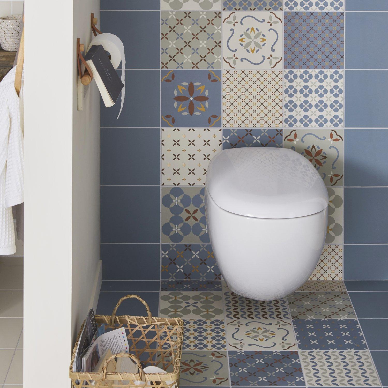 Carreau De Ciment Toilette des carreaux de ciment dans les wc | leroy merlin