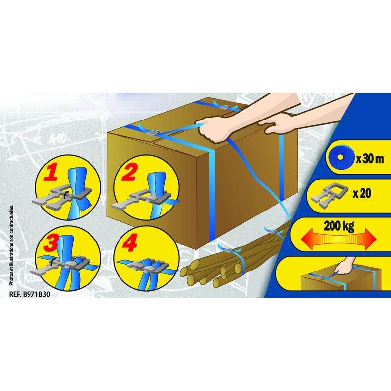 Kit De Cerclage 30m 20 Boucles