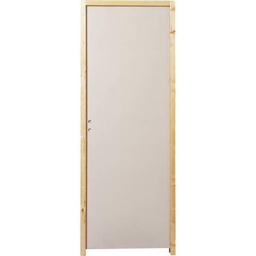 Capitonnage Porte se rapportant à bloc-porte acoustique isoplane plénitude h.204 x l.83 cm | leroy merlin