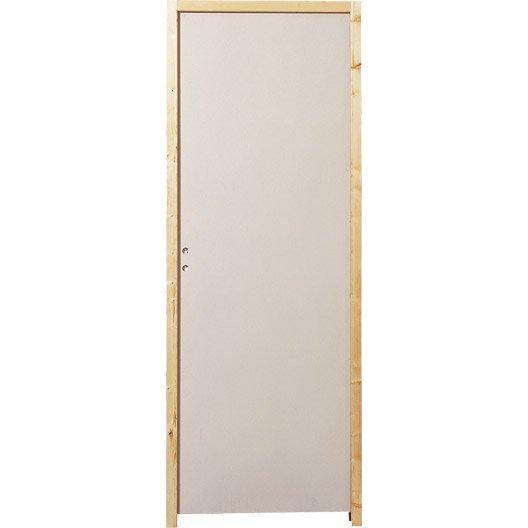 porte acoustique isolante et coupe feu au meilleur prix leroy merlin. Black Bedroom Furniture Sets. Home Design Ideas