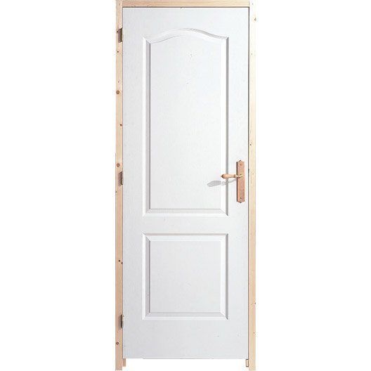 Bloc porte acoustique postform x cm leroy merlin for Porte 83 x 210