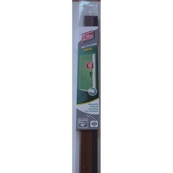 Bas de porte à visser brosse ELLEN,  L.100 cm bois brut à peindre