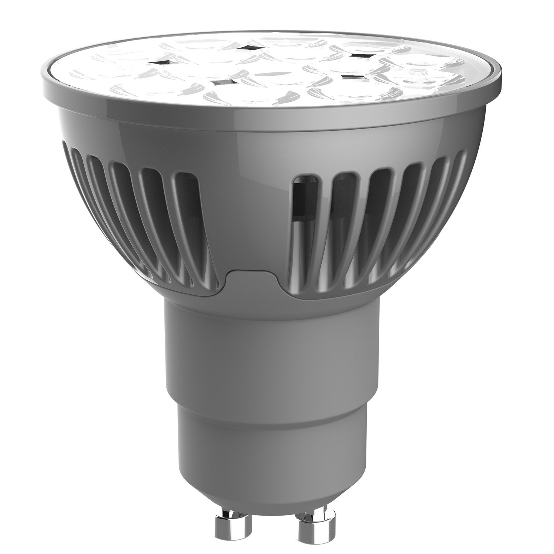 ampoule r flecteur led 5w 345lm quiv 50w gu10 4000k. Black Bedroom Furniture Sets. Home Design Ideas