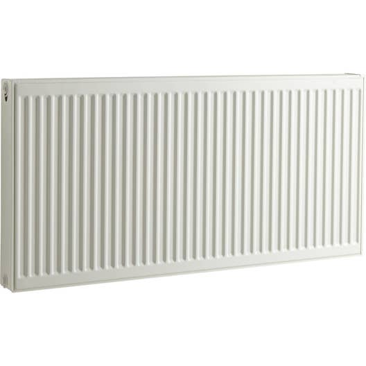 radiateur chauffage central blanc cm 2397 w leroy merlin. Black Bedroom Furniture Sets. Home Design Ideas