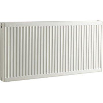 Radiateur chauffage central blanc, l.140 cm, 2397 W