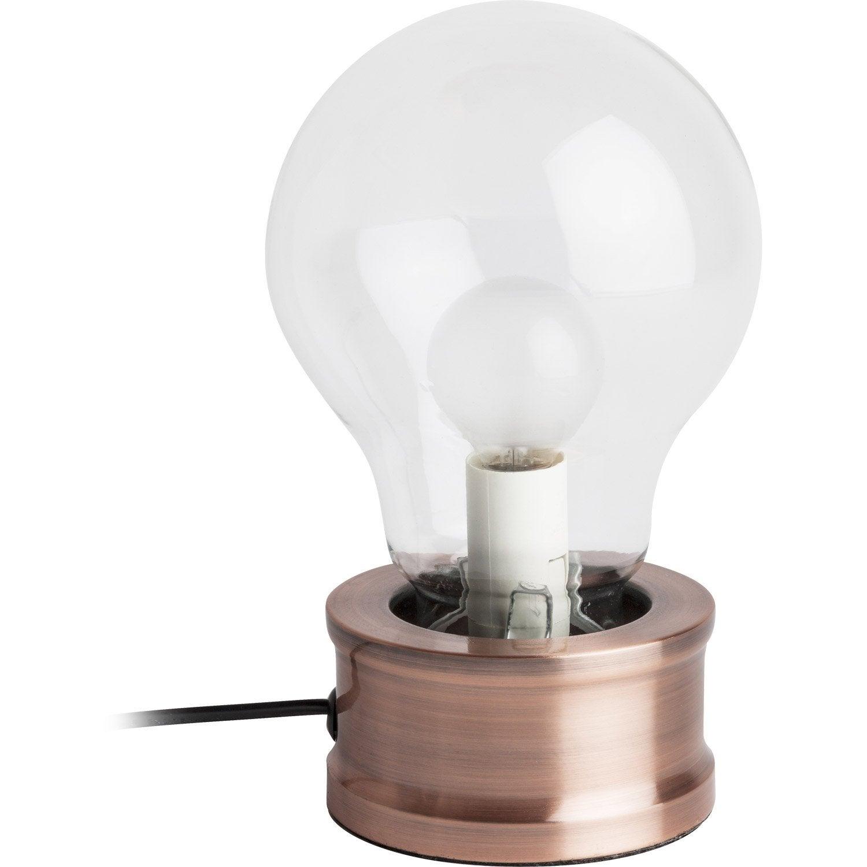 lampe e14 alva mathias verre transparent 25 w 5 Nouveau Lampe Verre Iqt4