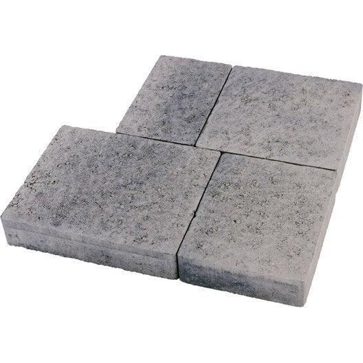 Pav b ton colis e gris nuanc 25x15 25x20 25x25 for Pave beton exterieur