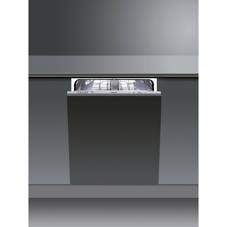 lave vaisselle int grable cm smeg sta646d2 13 couverts leroy merlin. Black Bedroom Furniture Sets. Home Design Ideas