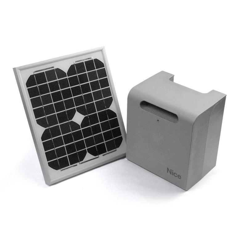Kit d alimentation solaire pour motorisation de portail, NICE HOME Solekit  ... 8309b38e212f