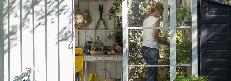 Construire Abris Bois construire un abri de jardin | leroy merlin