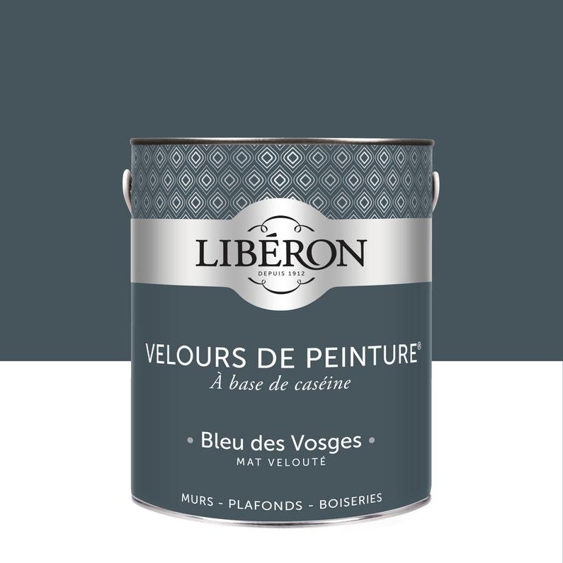 Peinture Multisupport Liberon Bleu Des Vosges Velours 2 5 L
