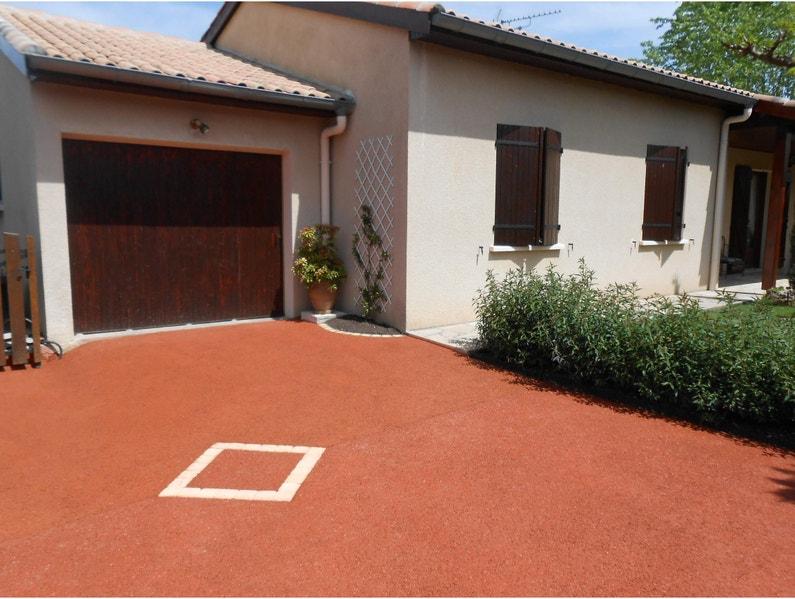 Colorant Béton Drainant Draincolor Couleur Terre Cuite 750 G