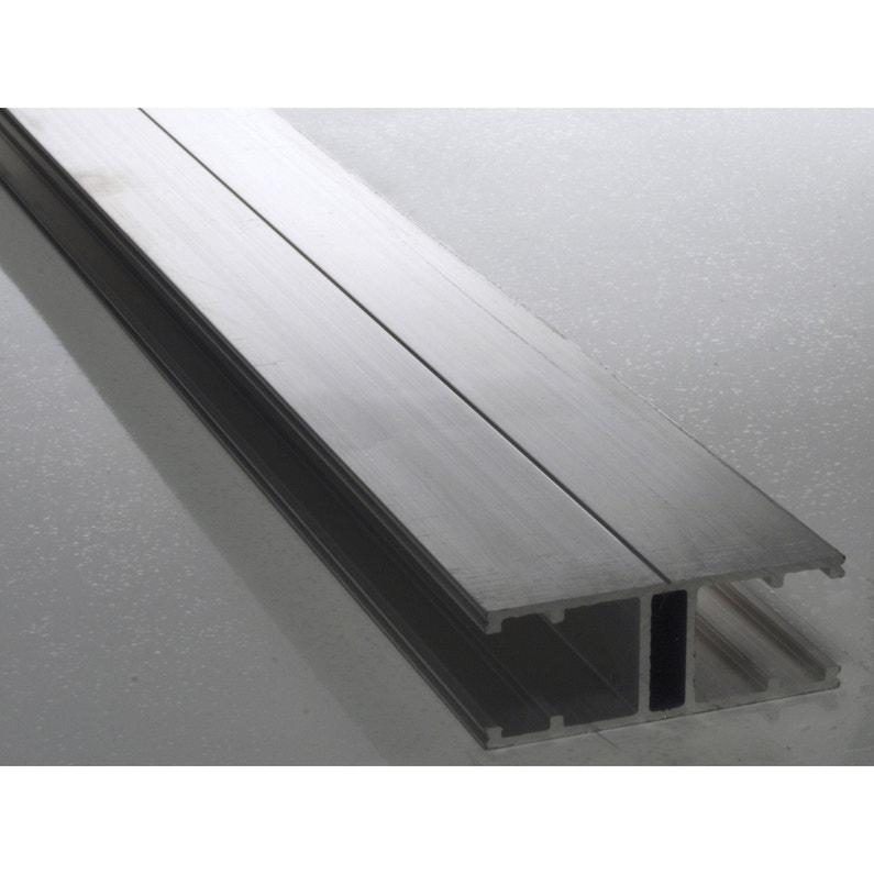 Profil Jonction Pour Plaque Ep 16 Mm Aluminium L4 M