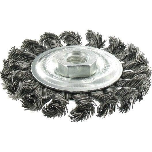 brosse circulaire meuleuse pour m tal tivoly mm leroy merlin. Black Bedroom Furniture Sets. Home Design Ideas