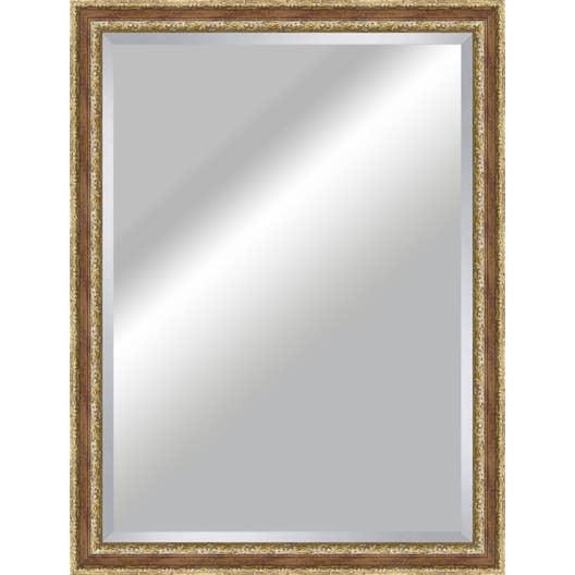 Miroir tradition rouge x cm leroy merlin for Miroir 110 50