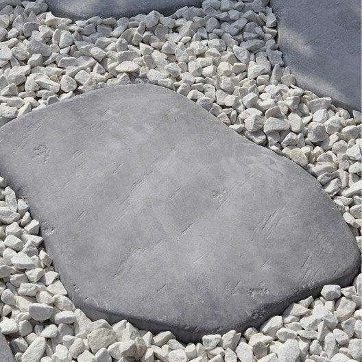 Pas japonais pierre reconstitu e gris bleu castel pierre bleue leroy merlin - Pas japonais point p ...