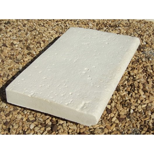 margelle en pierre reconstitue ton pierre l50 x l33 x ep - Margelle Bois Piscine Leroy Merlin