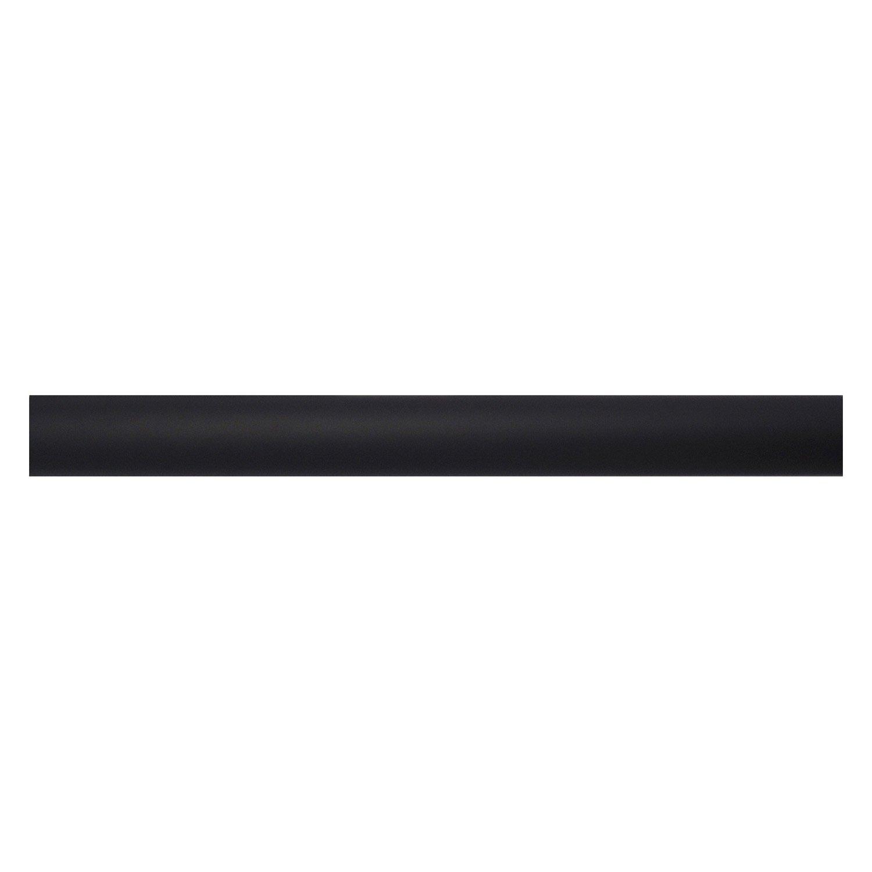 Tringle rideau design noir mat 200 cm inspire leroy merlin - Tringle a rideau noir ...