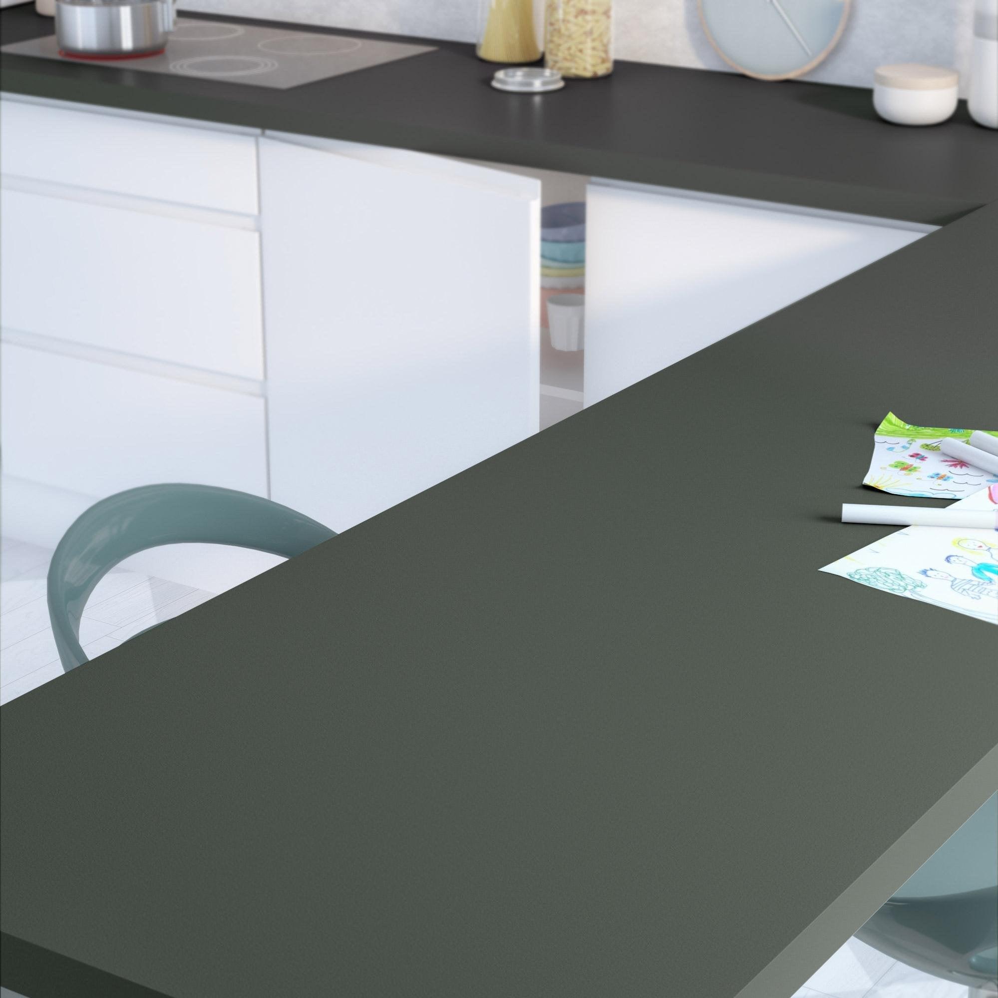 Crédence stratifié Granit 1 H.64 cm x Ep.9 mm x L.300 cm