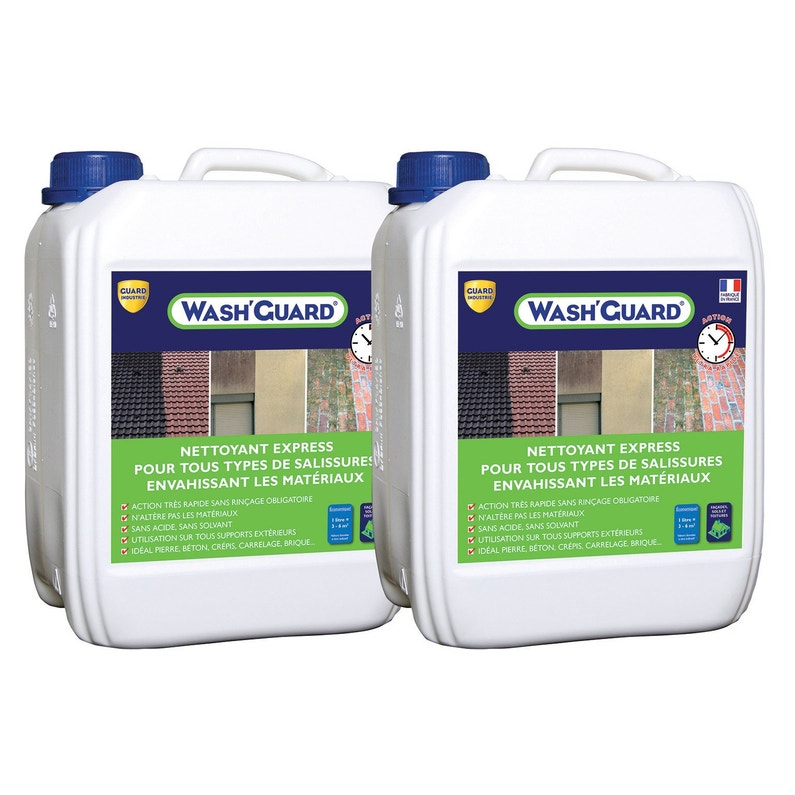 Nettoyant Washguard Lot De 2 10 L Incolore