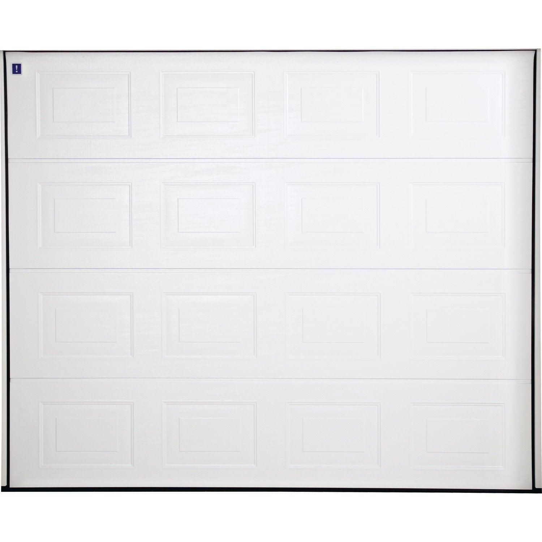 Porte de garage sectionnelle motoris e hormann x l for Porte de garage dimensions tableau