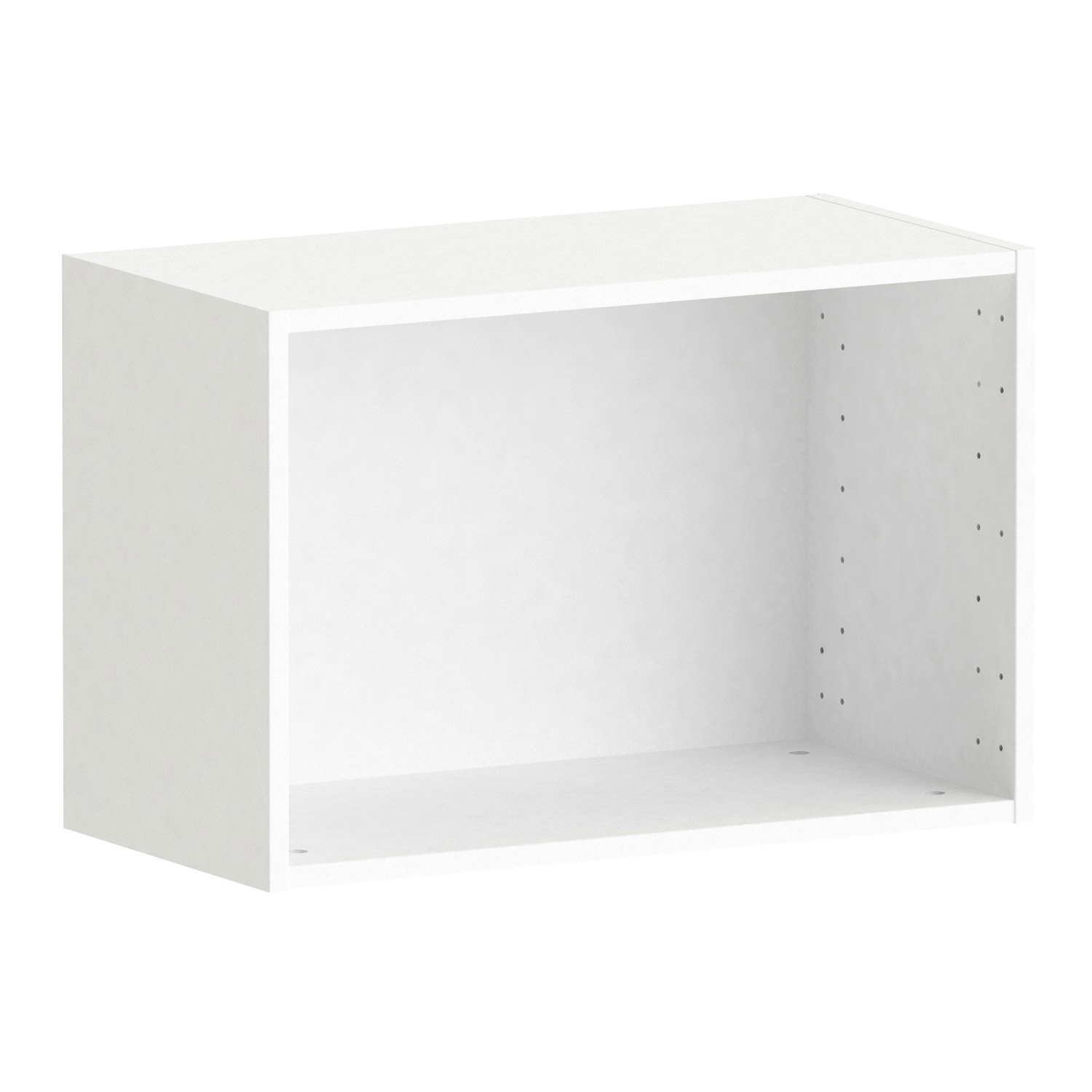 caisson spaceo home 40 x 60 x 30 cm blanc