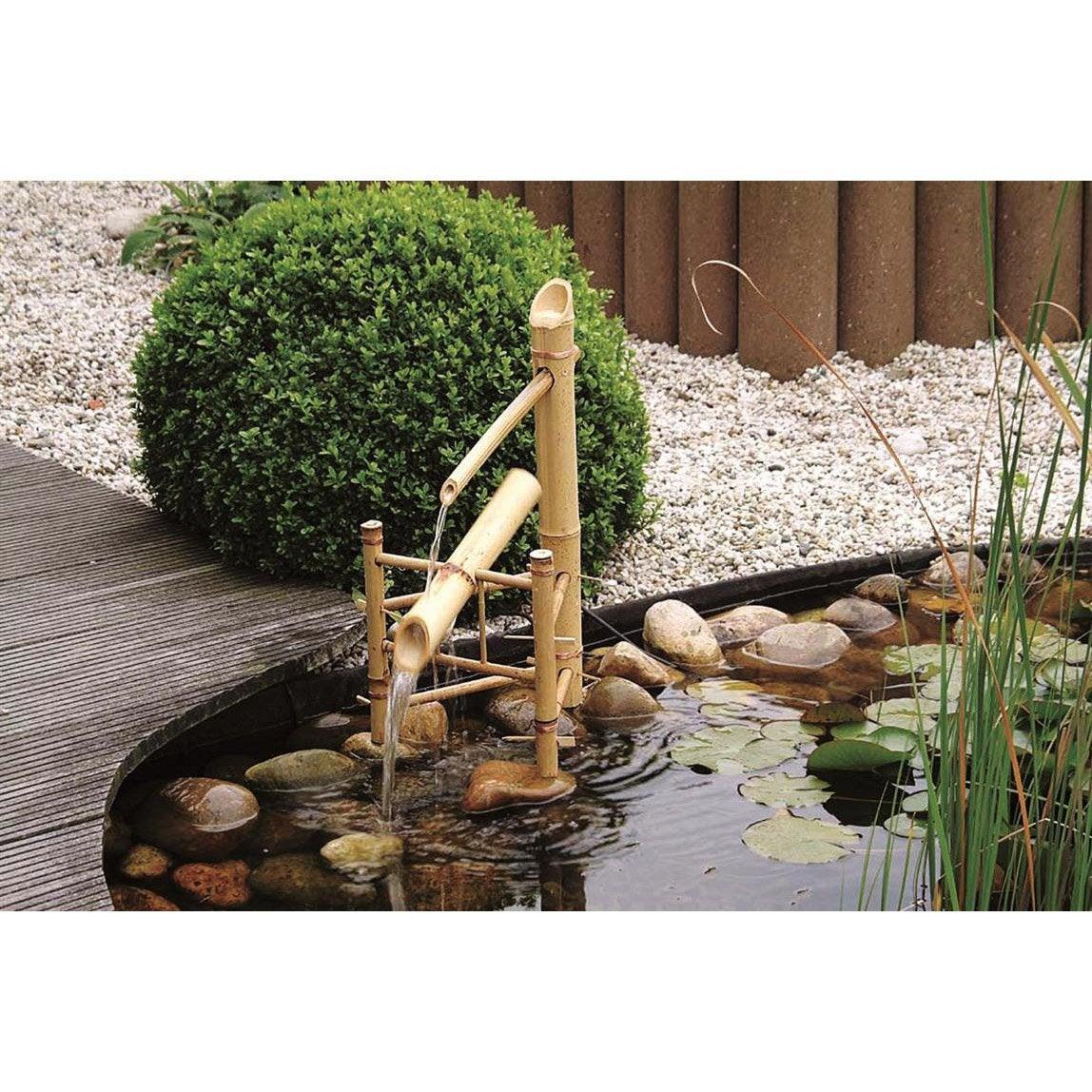 cascade ubbink bamboo beige cm leroy merlin. Black Bedroom Furniture Sets. Home Design Ideas