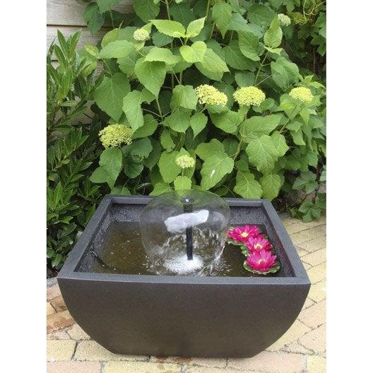 kit bassin ubbink terrasse 4 noir cm leroy merlin. Black Bedroom Furniture Sets. Home Design Ideas