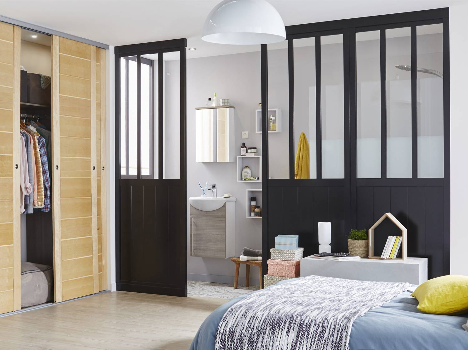 cloison atelier leroy merlin maison design. Black Bedroom Furniture Sets. Home Design Ideas