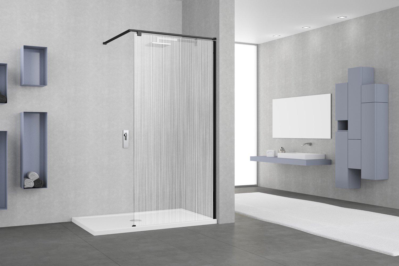 une paroi de douche s rigraphi e pour un style contemporain leroy merlin. Black Bedroom Furniture Sets. Home Design Ideas
