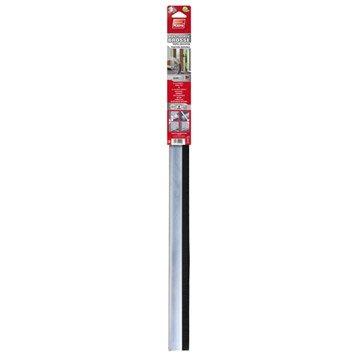 Bas de porte à visser brosse PLASTO,  L.93 cm aluminium