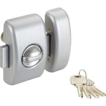 Verrou universel bouton / cylindre, 45 mm, THIRARD trafic 6